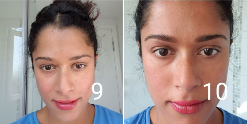 How to shape your eyebrows - fill in any gaps with a brow pencil.